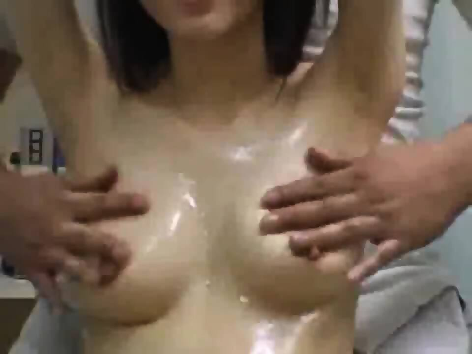 breast massage scene