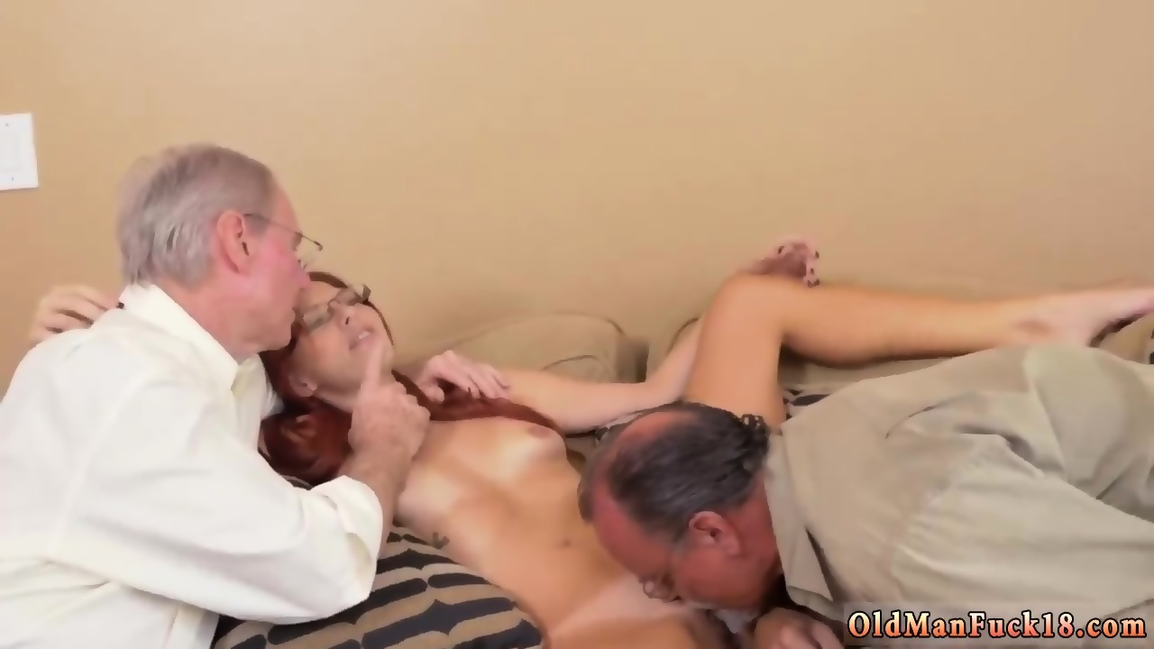 German Young Old Threesome