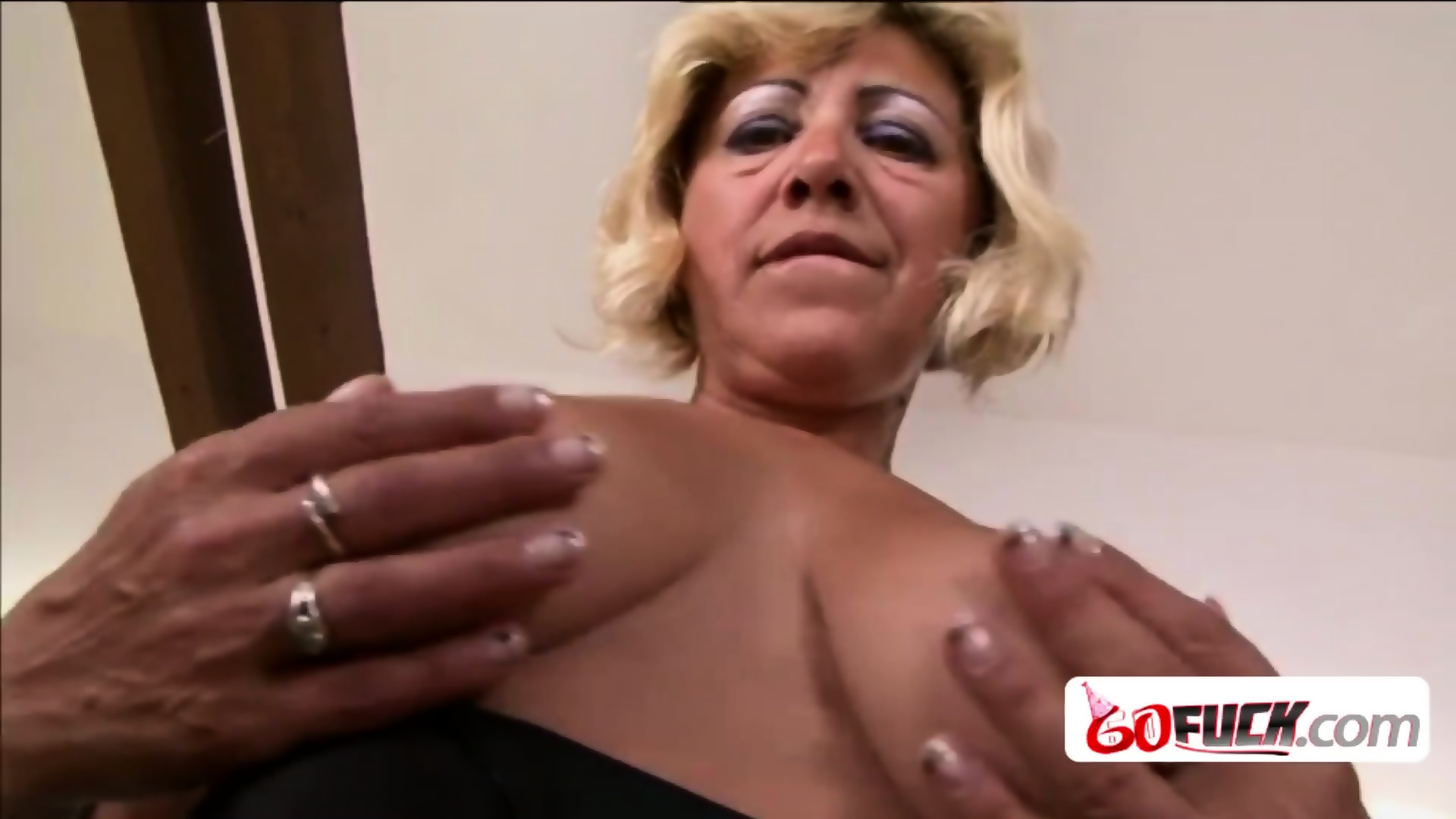60 Plus Gilfs 60 year old gilf receives a hard bangingher lovers big