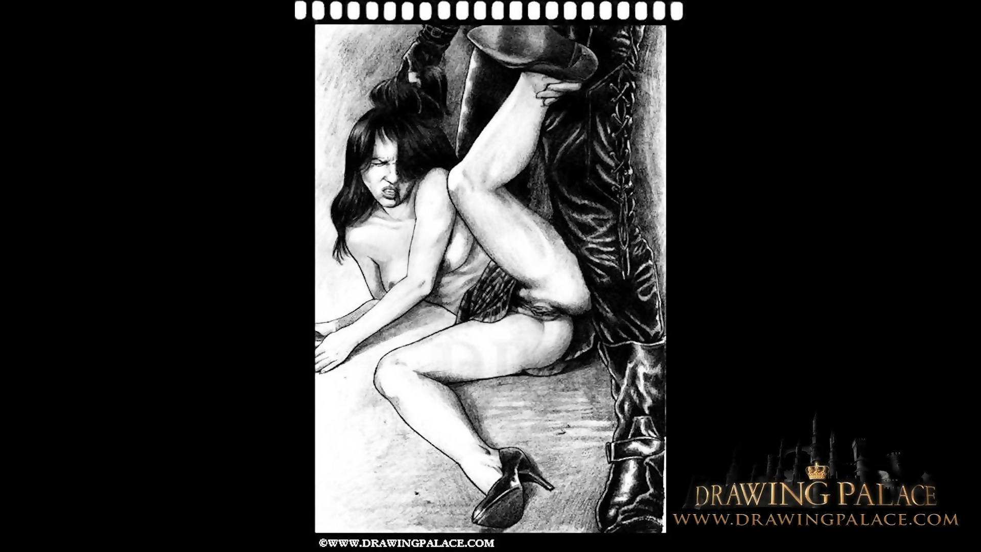 Fekete-fehér szexuális cső