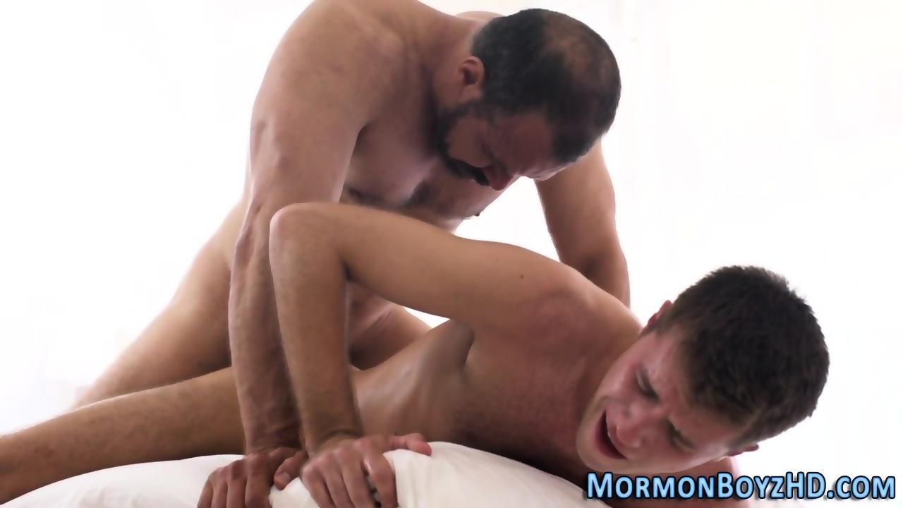 Mormon elders barebacking