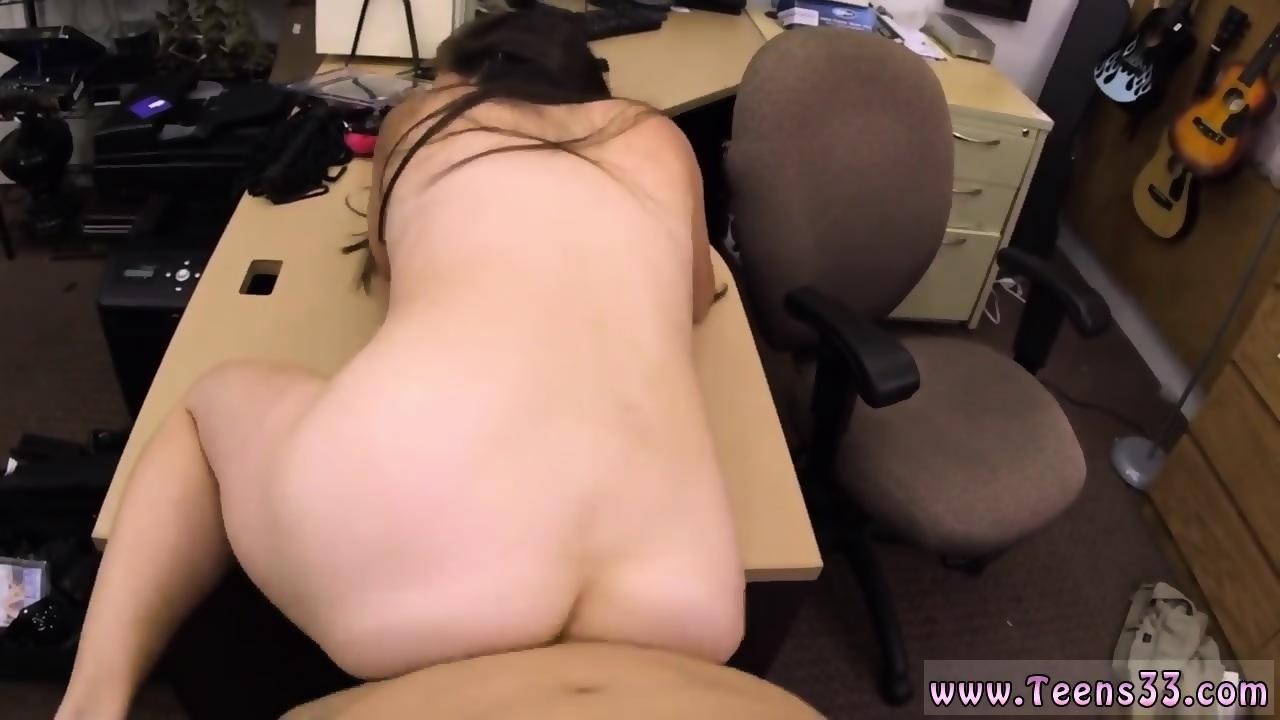 Teen Brunette Stripping Bikini