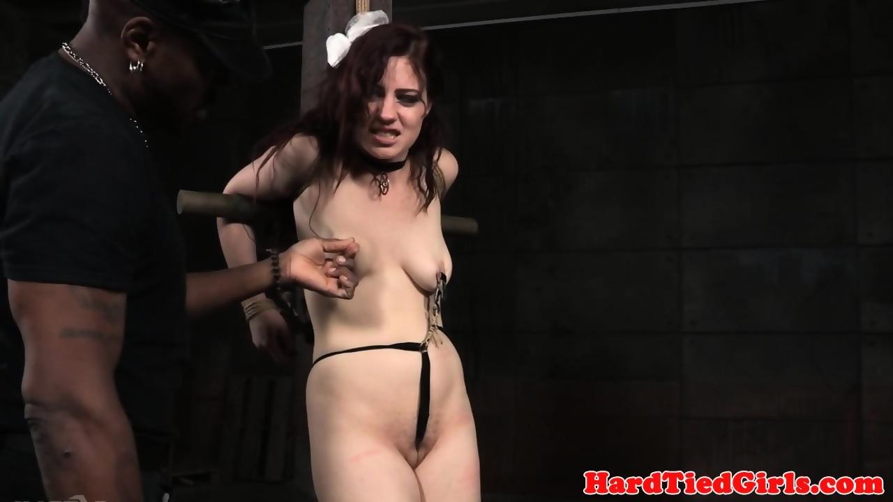 Groped Submissive Teased By Black Maledom - scene 9