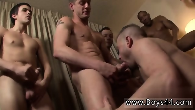 Gay bachelor party sex