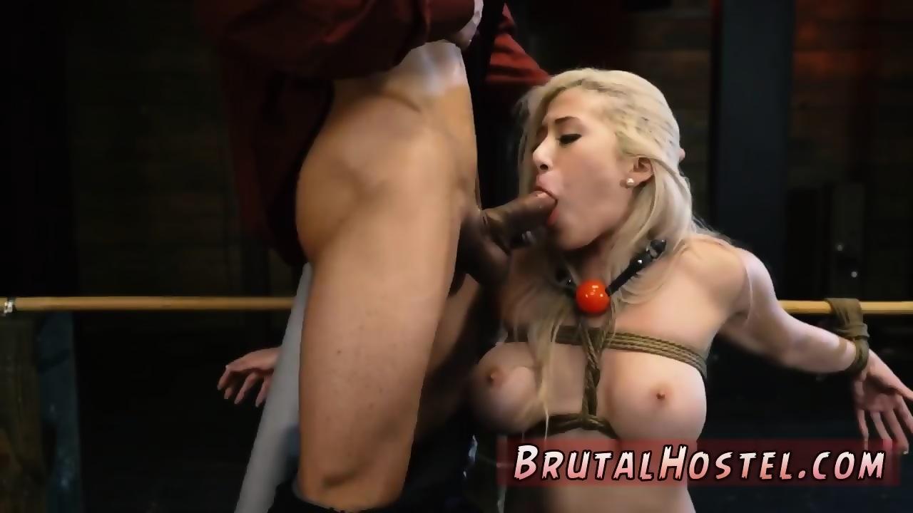 Throat cum blonde