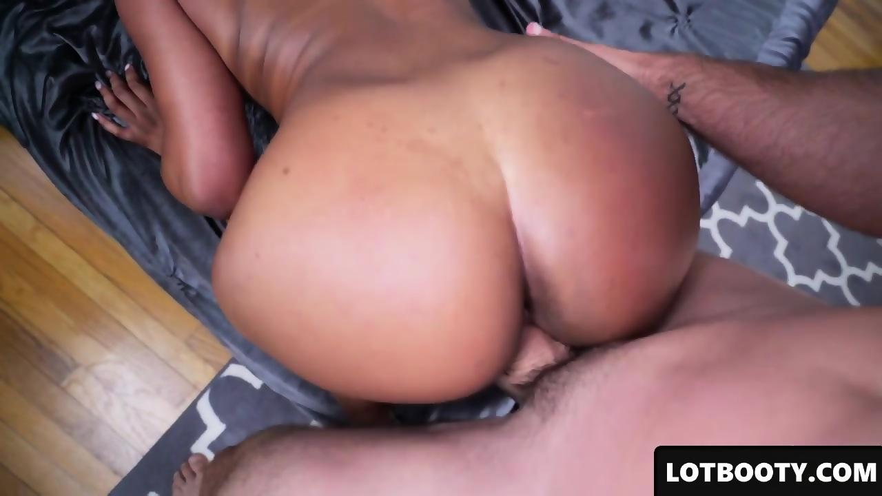 Ebony Bbw Spreading Ass Cheeks