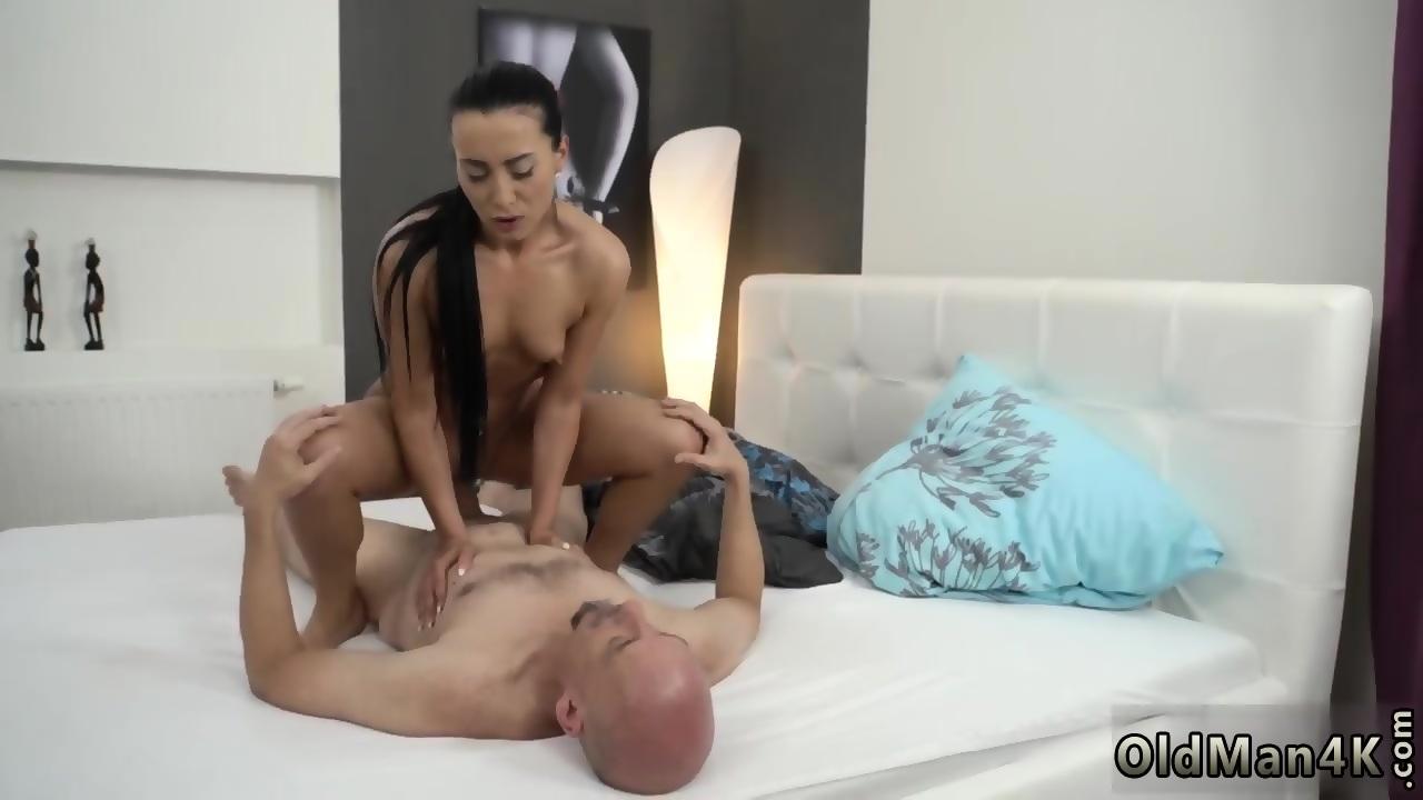 Old gang bang and man fucks young shy girl Hot lovemaking ...