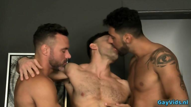 Gay enjoys his cock solo jerking