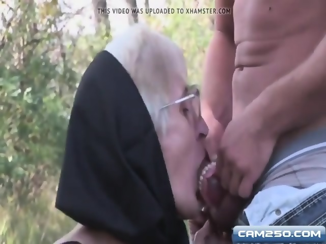 Very Old Granny Blowjob With No Teeth And Hairy Pussy - scene 4