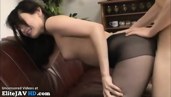 Japanese Pantyhose Footjob Sex
