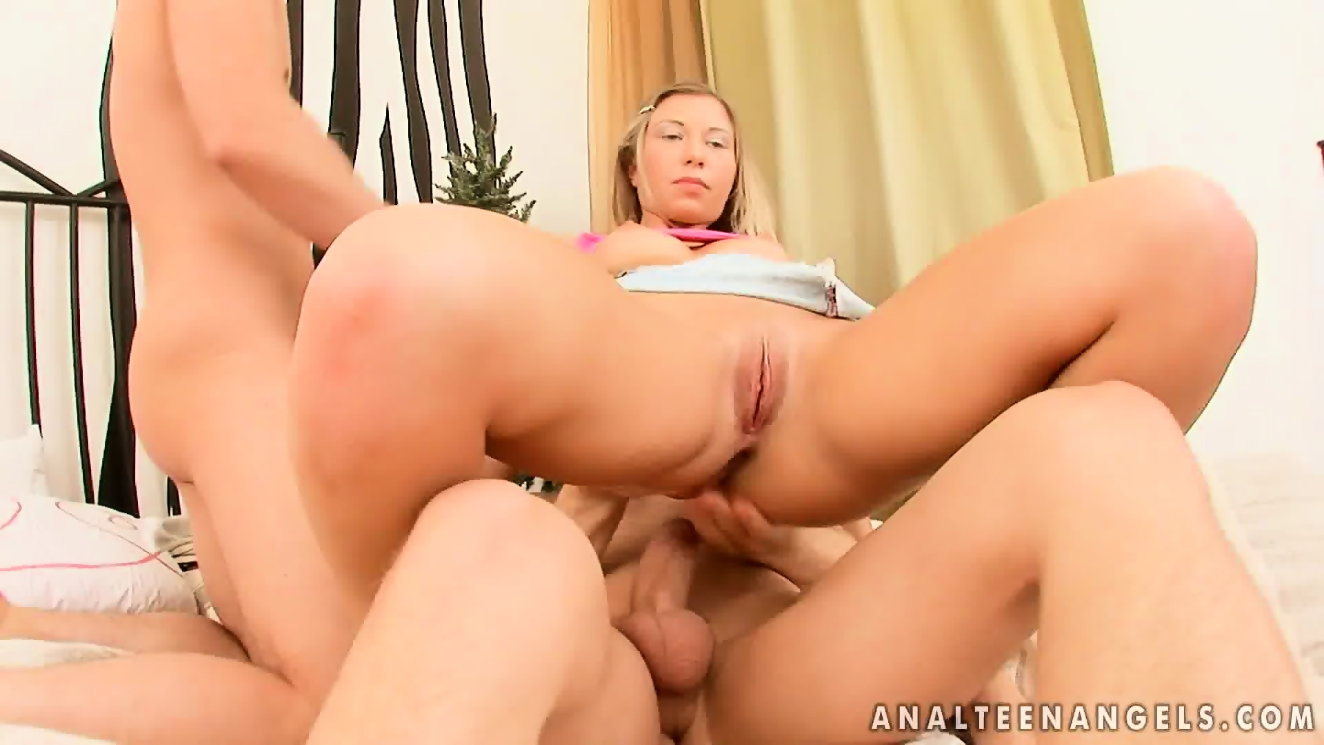 image She loves the double dose of cock