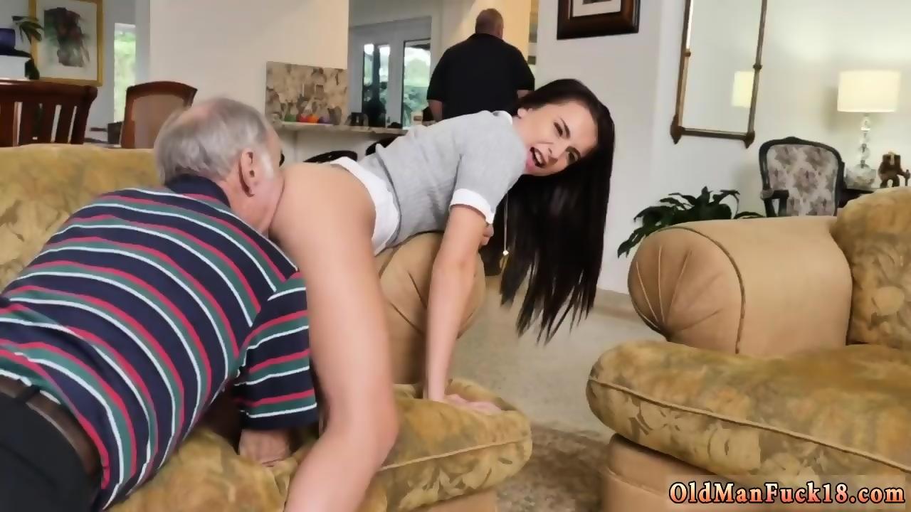 MILF Rides Old Man's Penis!