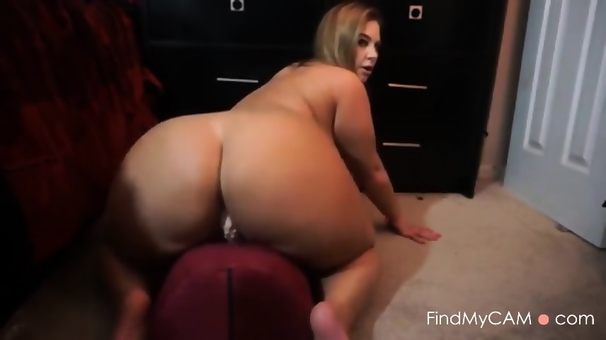 Big Ass Riding Dildo Hd