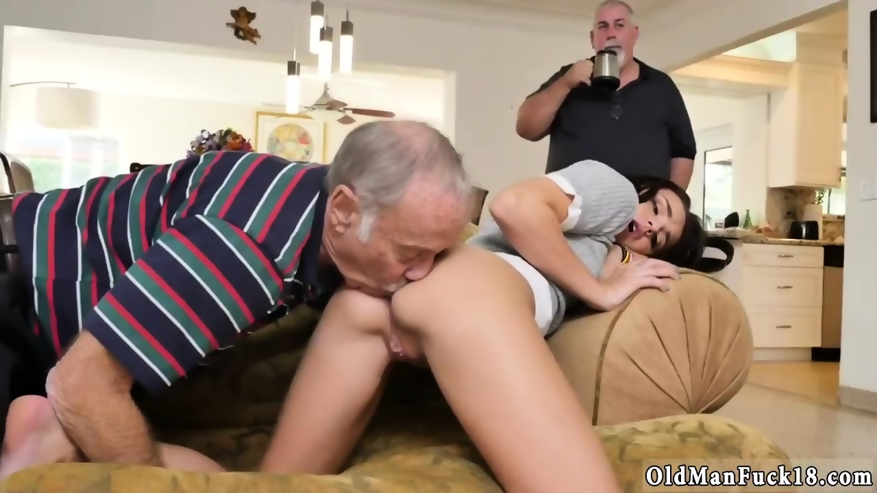 older man with Teen