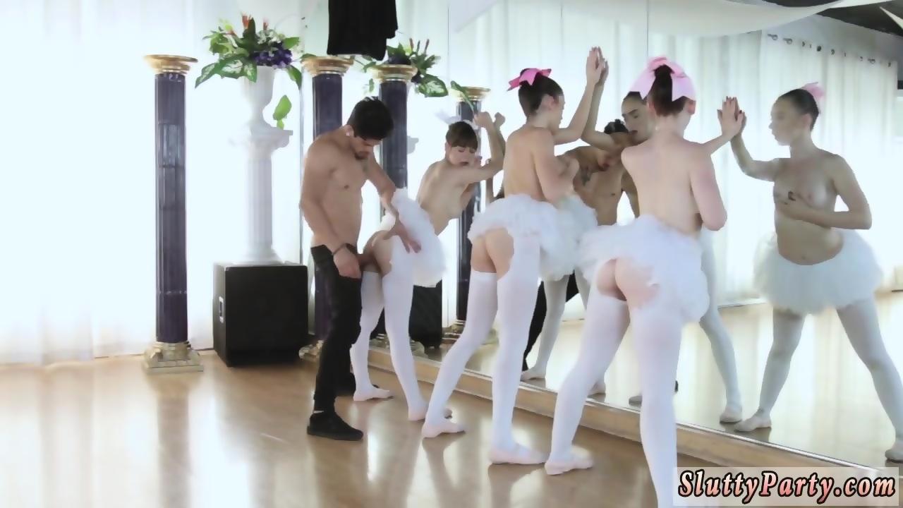 Russian teen fuck Ballerinas - scene 4