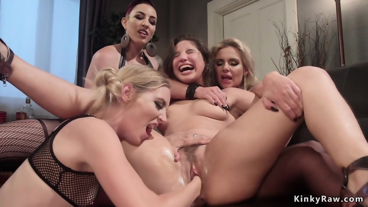 Anal group sex