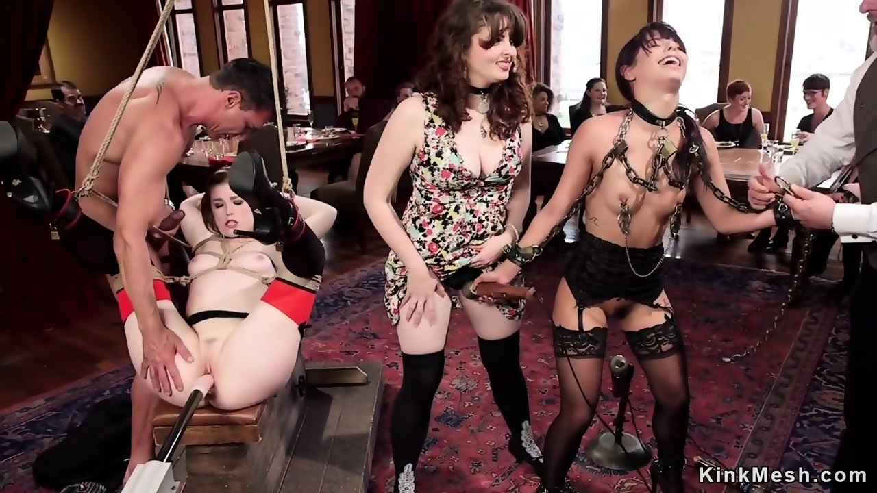 bdsm amateur slave michele stripping