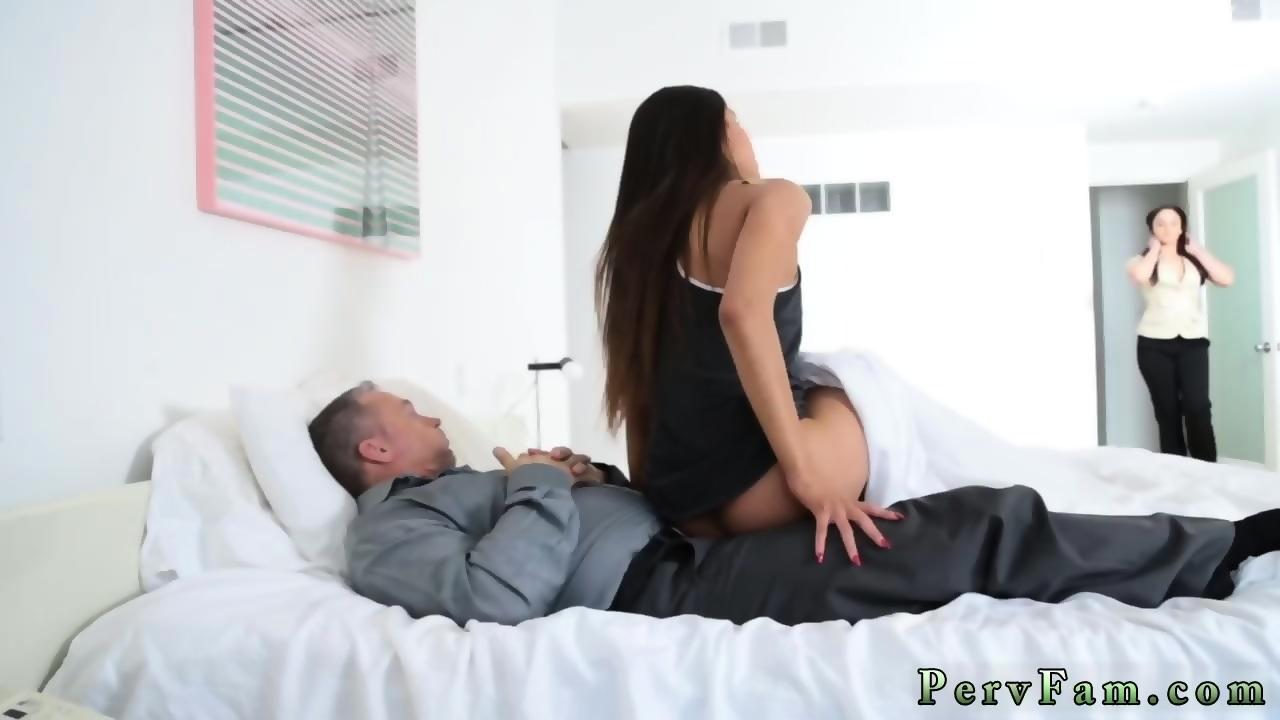 Milf Sucks Cock Under Table