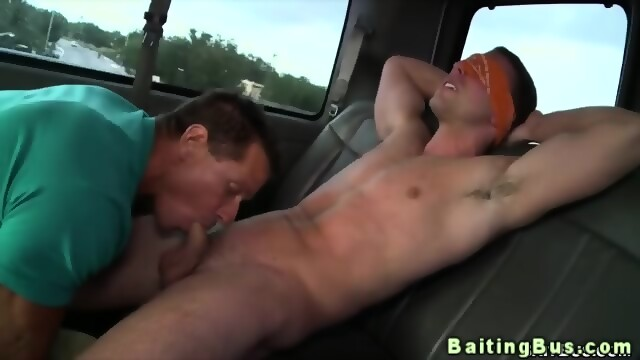 Surprise Gay Blowjob For Straight Dude