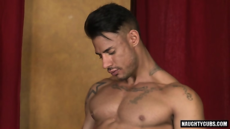 Latin gay oral with facial cum