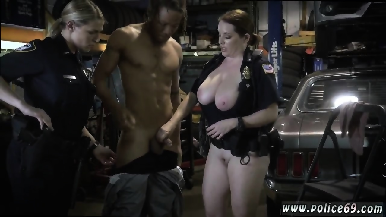 cutie with large tits riding black dick