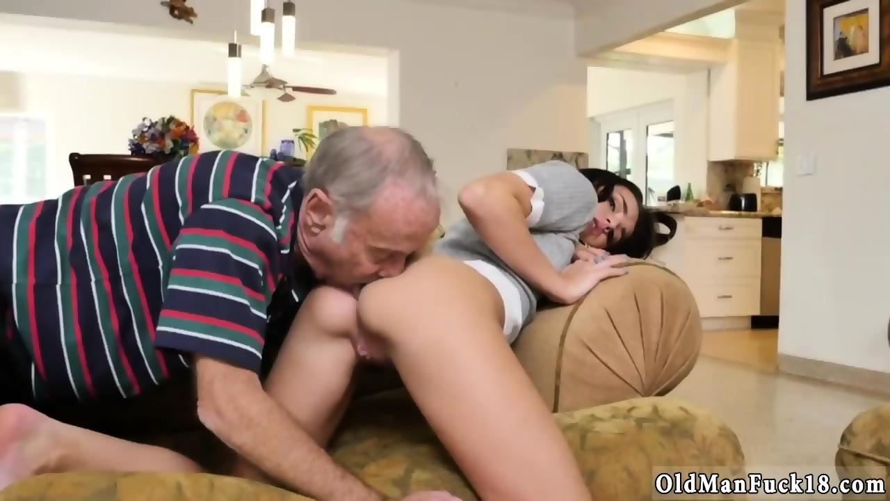 Old Man Fucks 18 Year Old Girl