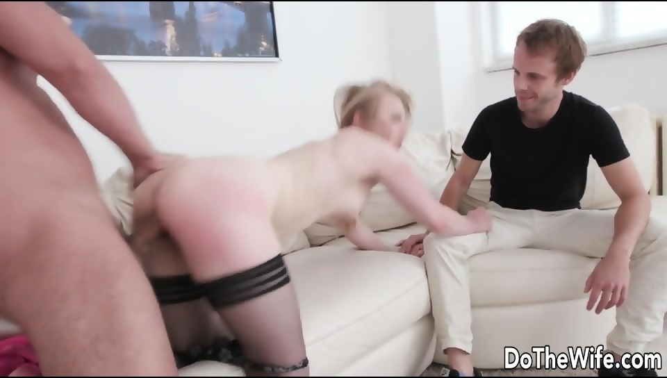 Husband Watches Me Fuck