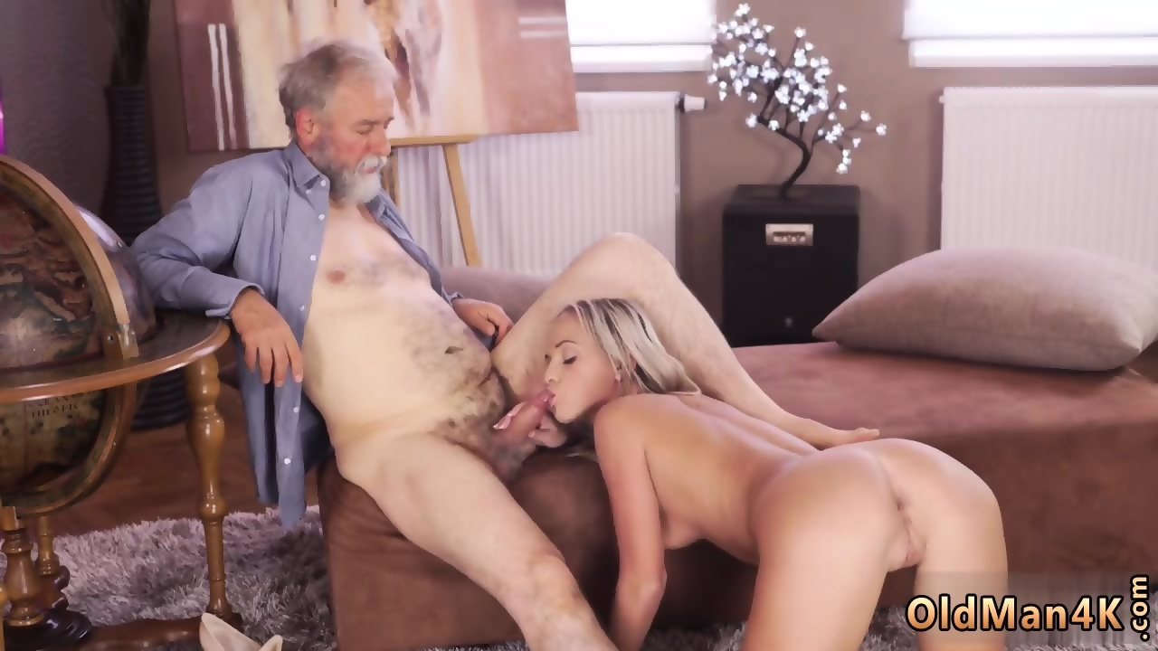 Ugly man fucks model