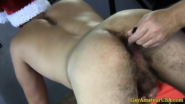 Gayamateur Jock Gets Butt Toyed