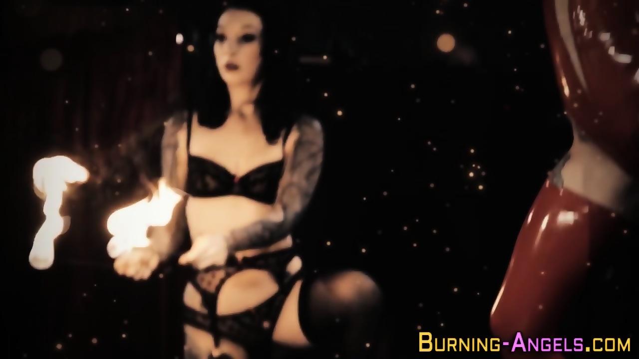 Horny gothic sluts artistic erotica