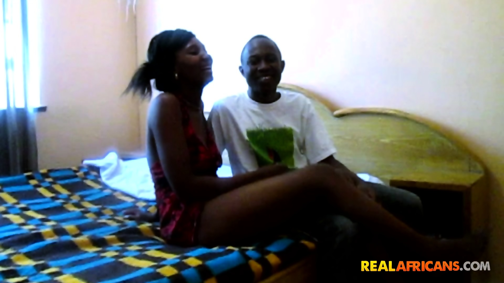 Amateur african couple sex tape - scene 5