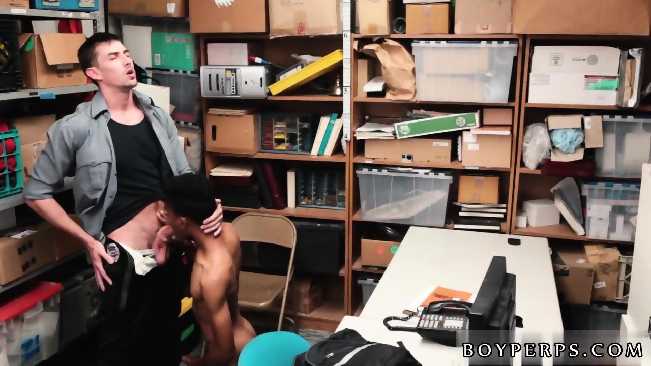Gay Black Office Sex