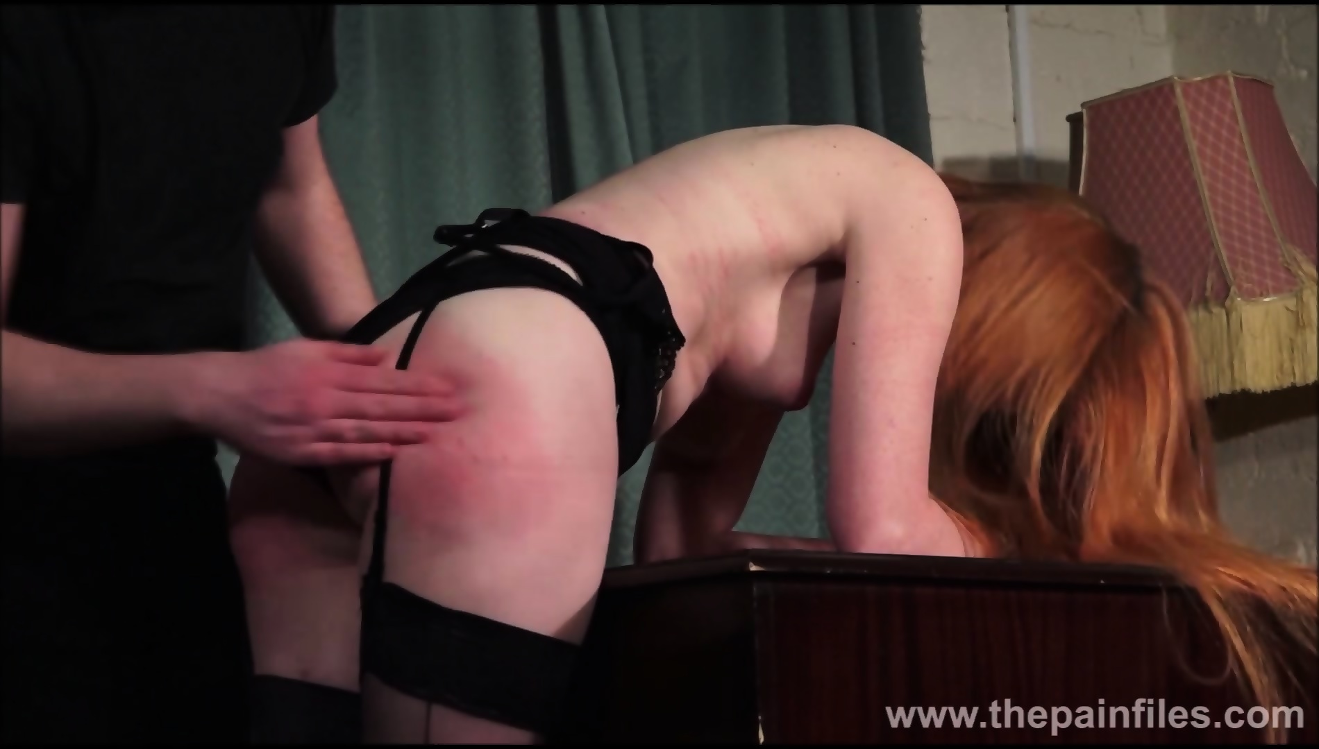 Submissive spanked
