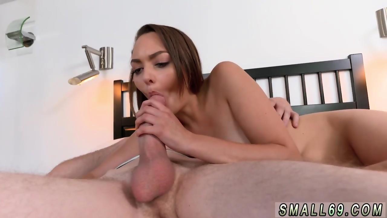Small boobs balls licking