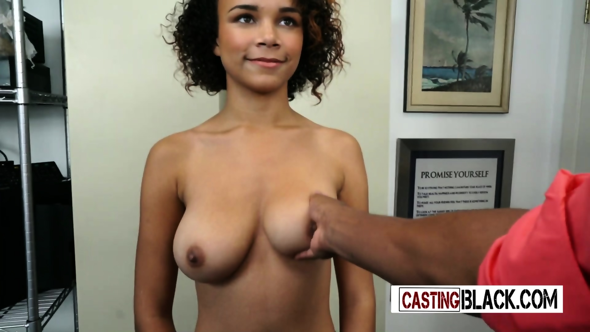 black girl interview porn