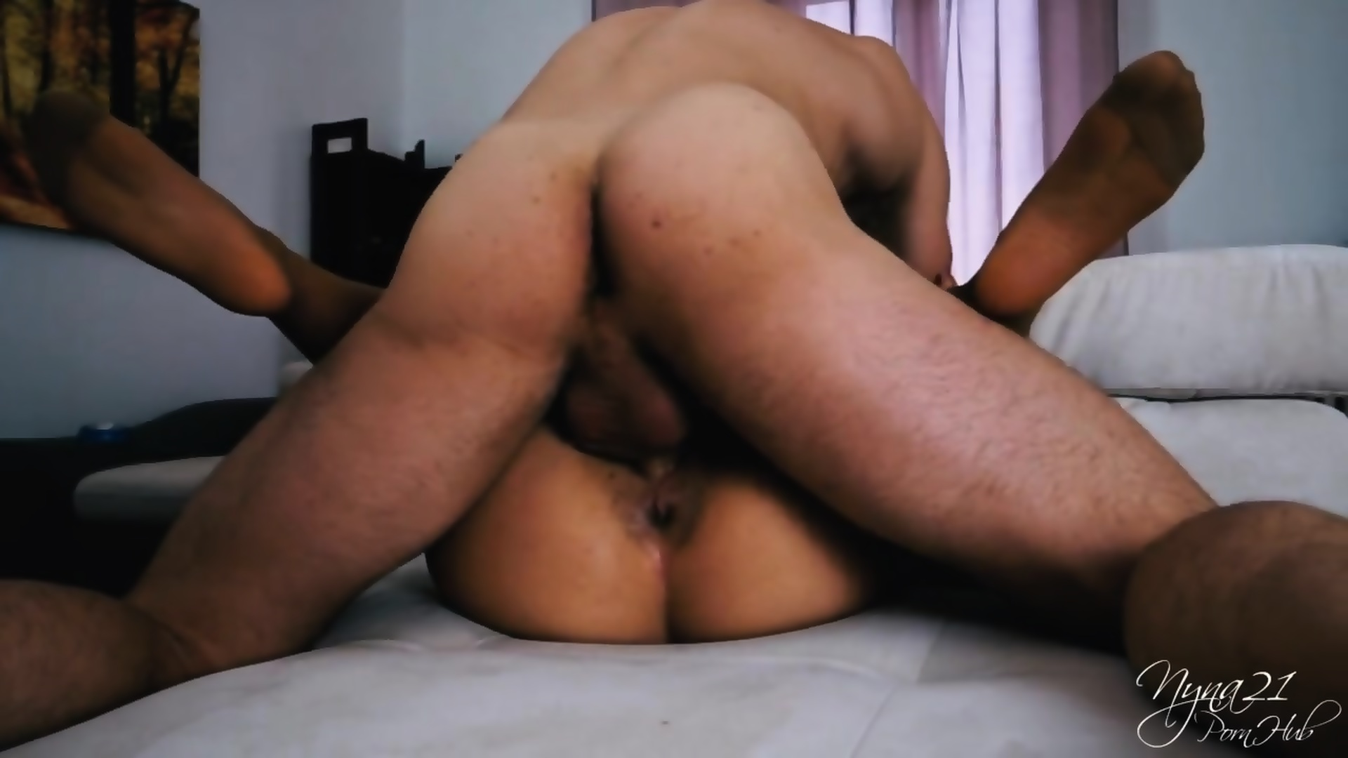First Anal Crying Creampie