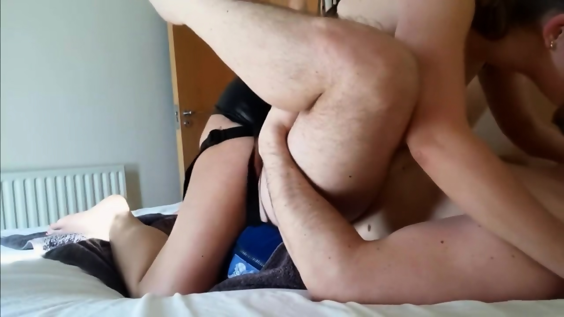 Amateur Girl Passionately Pegging Him To Massive Cumshot - She Can Pound! -  scene 11