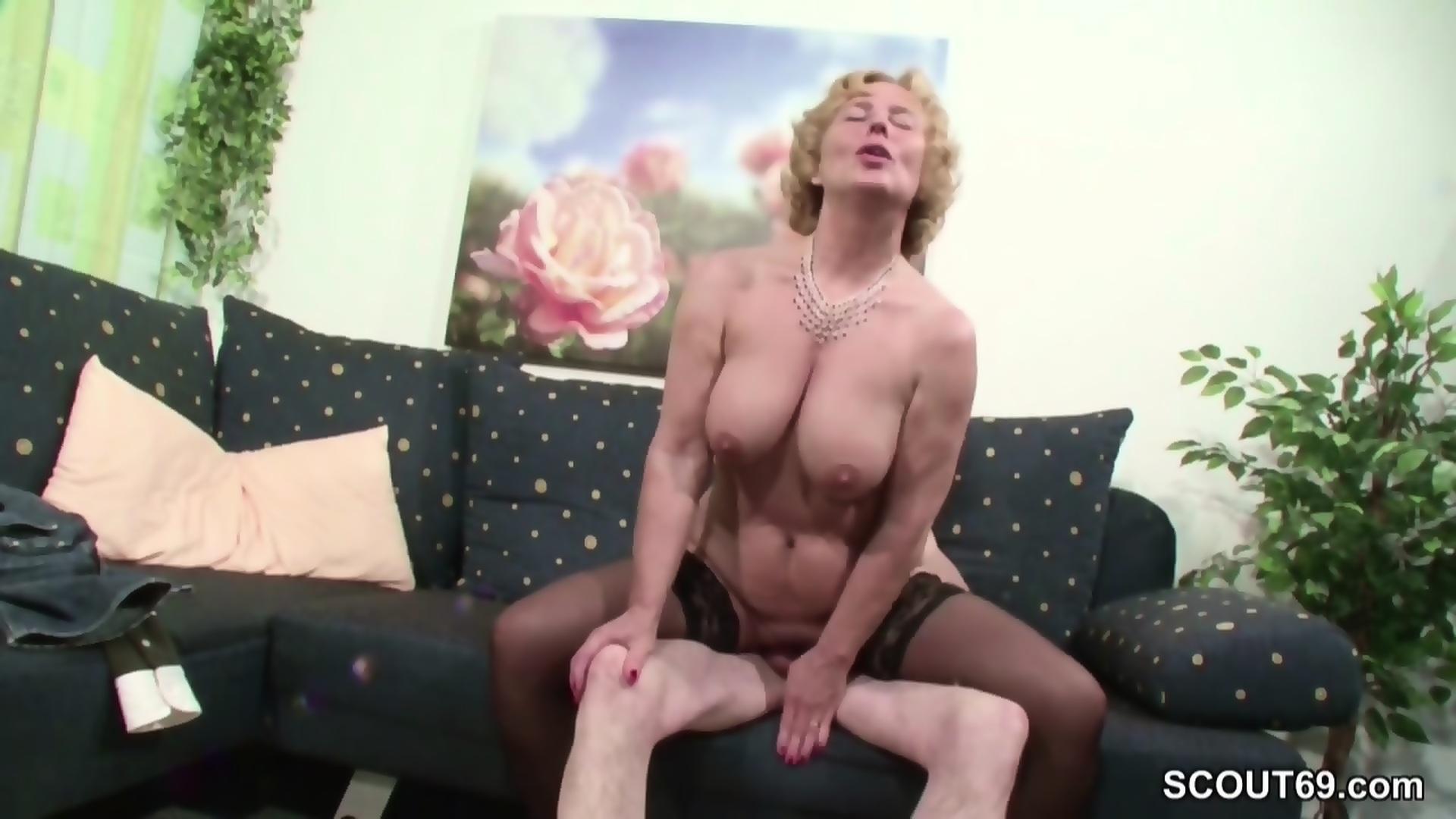 oma dojrzałe porno duży koc