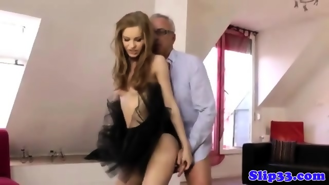 Glamour russian jerking oldman cock 1
