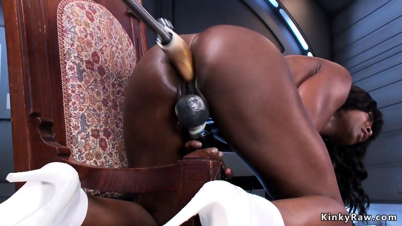 Amateur Ebony Rough Fuck