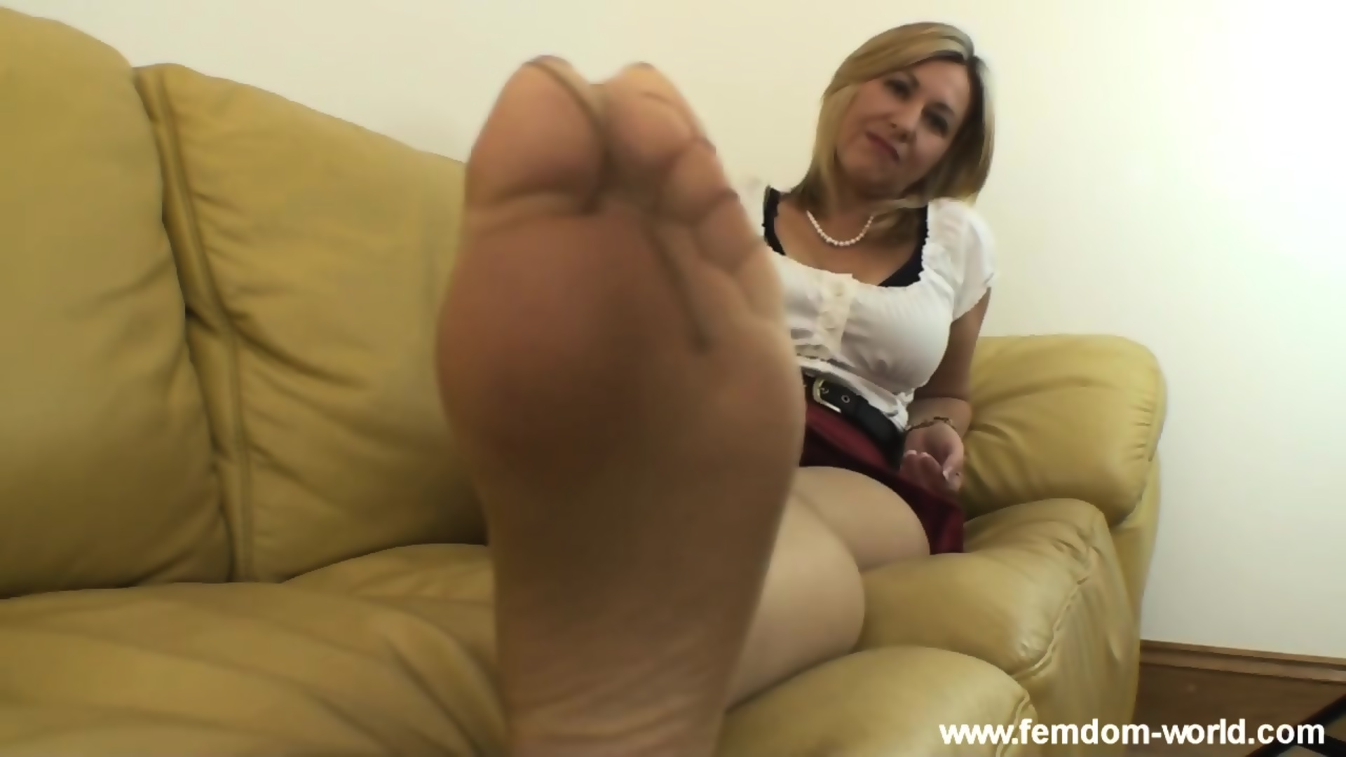 Pantyhose Feet Worship Pov