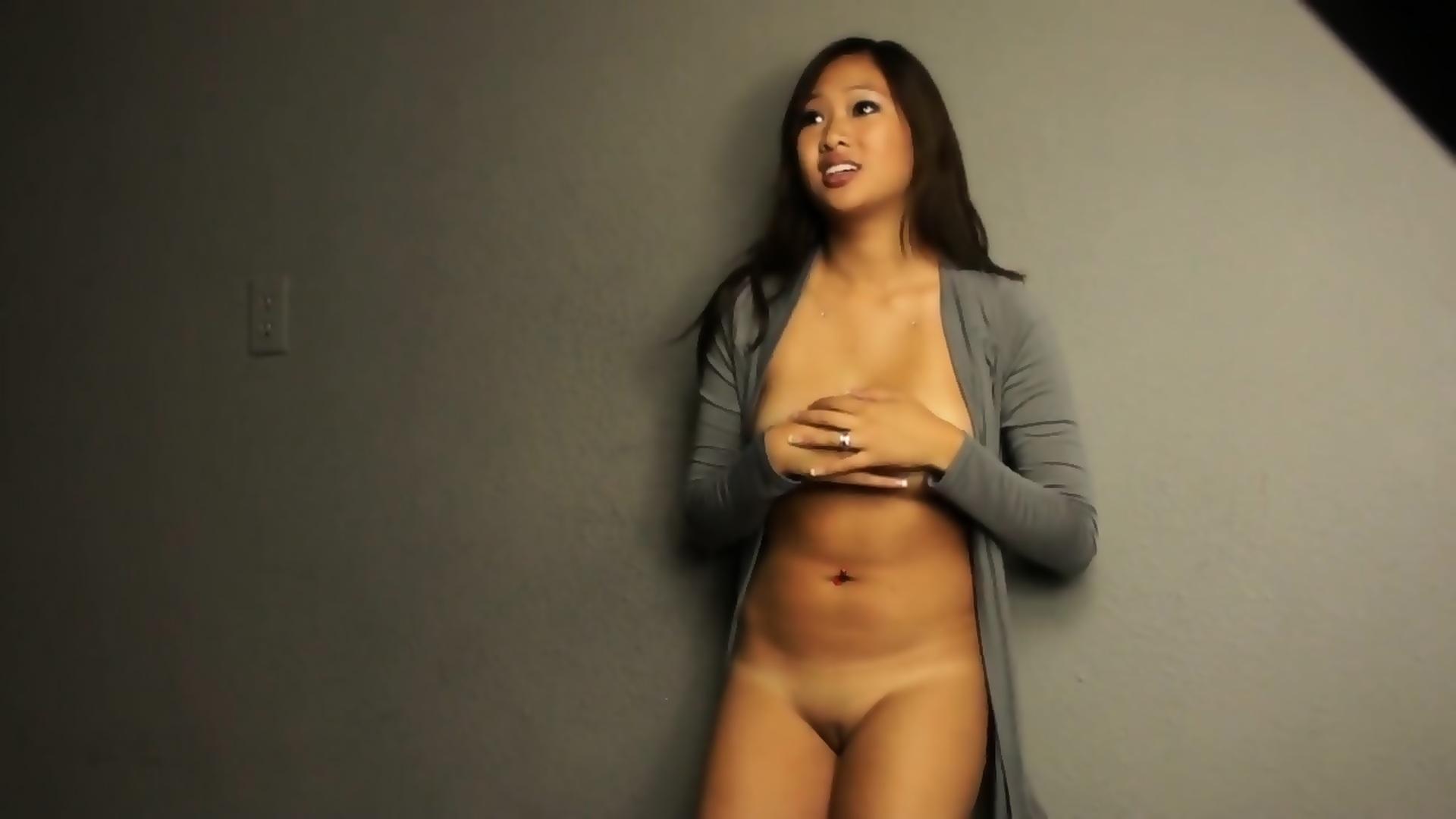 Asian models strip