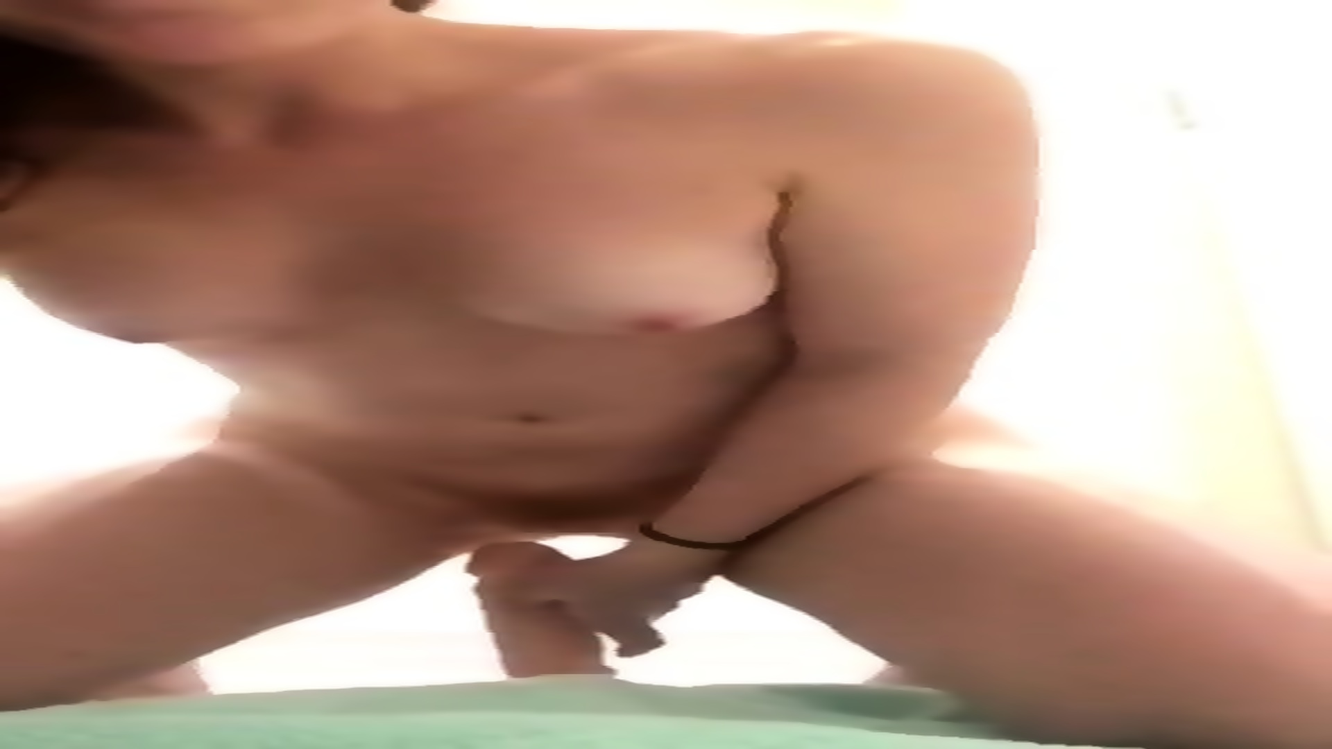 Black Tranny Riding Dildo