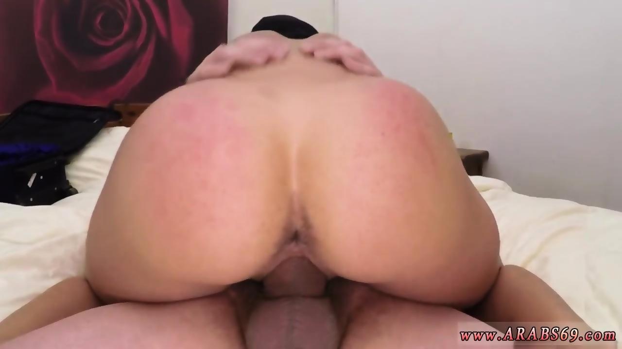 Big White Booty Masturbation
