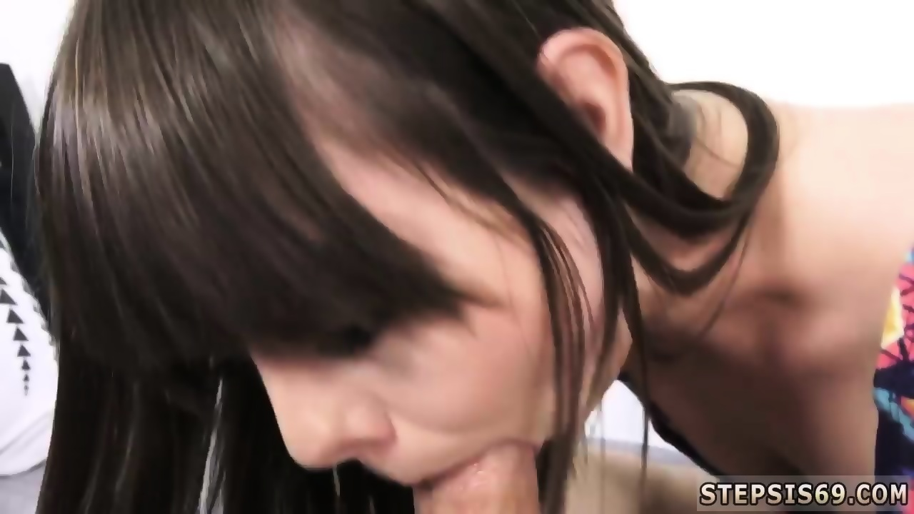 Perfect Brunette Tease Blowjob