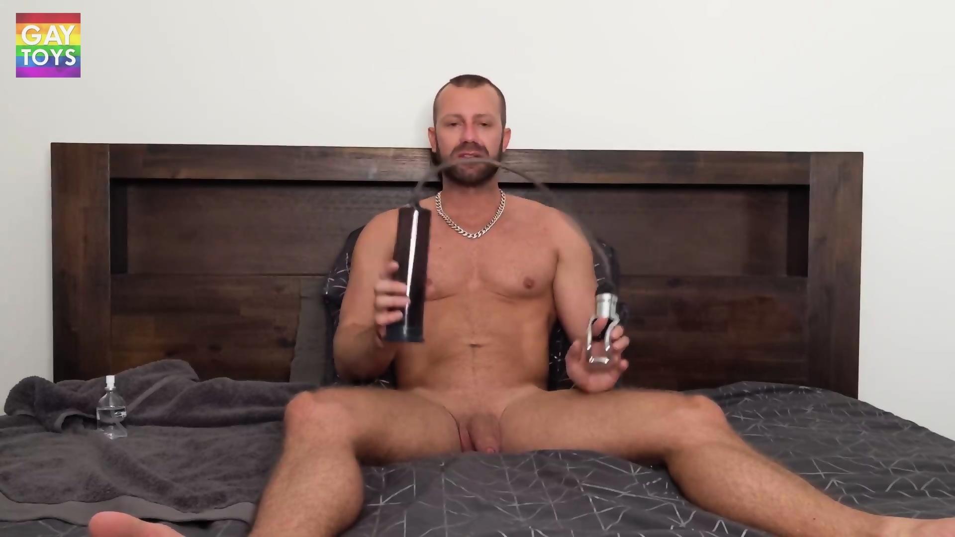 penis pump gay video