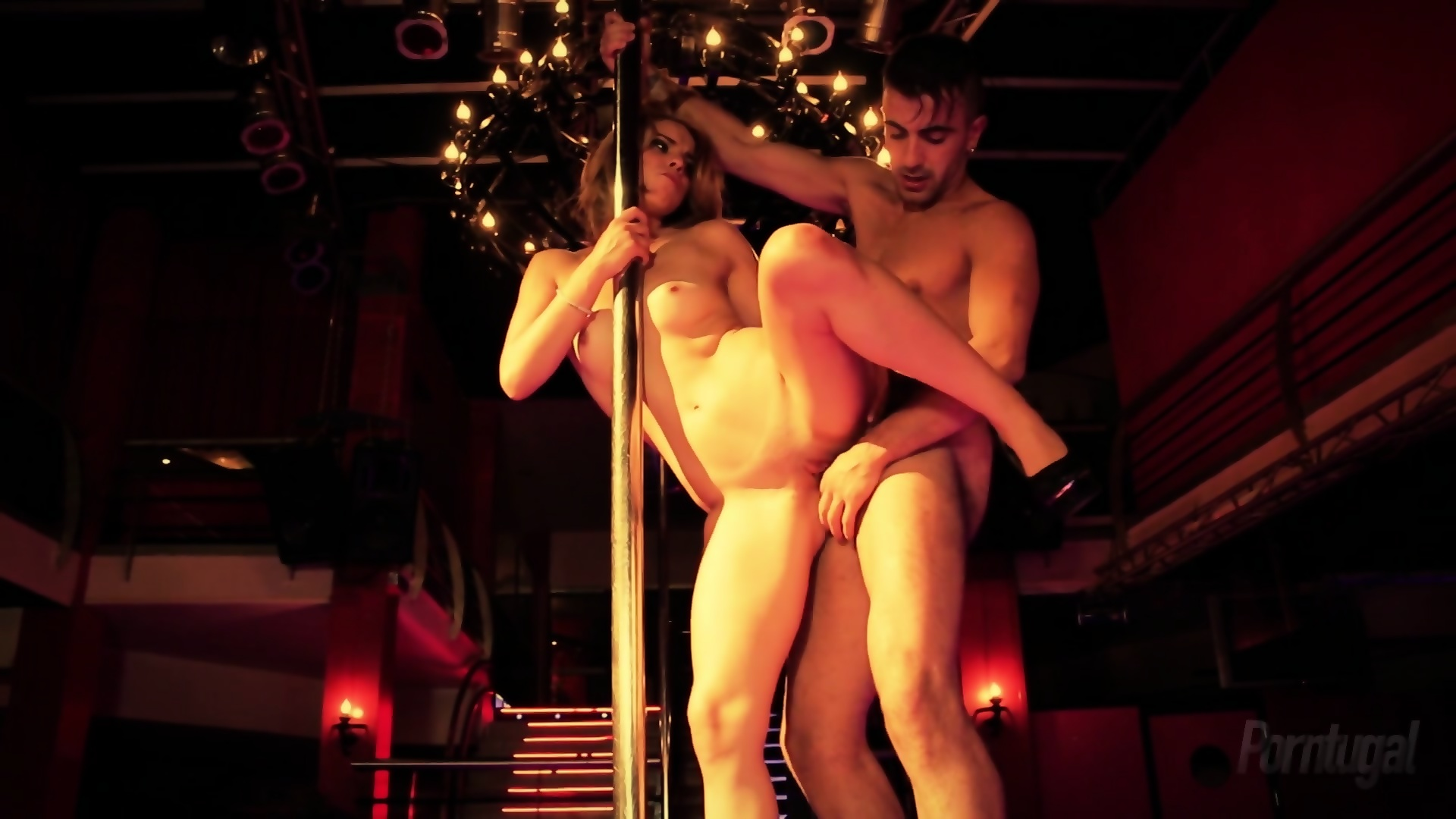 Fucking at a strip club