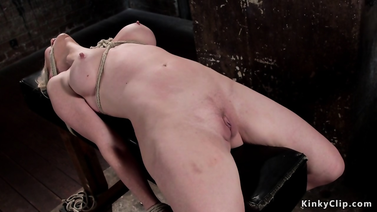 Tied up and fisted