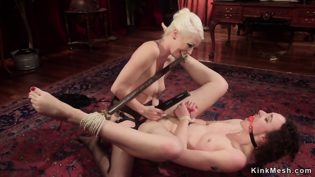 Tied Lesbian