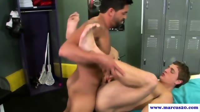 Gay For Pay Pornstars Anal In Lockerroom